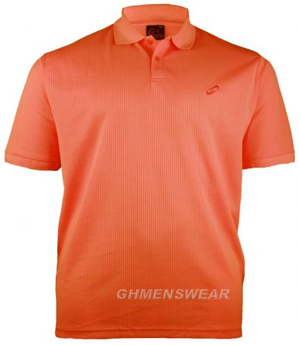 Mesh Polo Shirt ORANGE PEACH